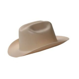 New Hard Hat JACKSON WESTERN HARD HAT TAN ANSI Approved HH15261