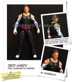 WWE Custom Jeff Hardy Mattel Immortal Elite TNA Charismatic Enigma