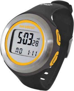 New Balance HRT on Demand Heart Rate Monitor Watch Black Gold New