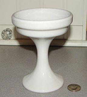 Westmoreland Glass Pedestal Candle Holder Simple Elegant Deco