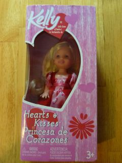 Little Sister of Barbie 2004 Hearts Kisses Doll Valentines Day