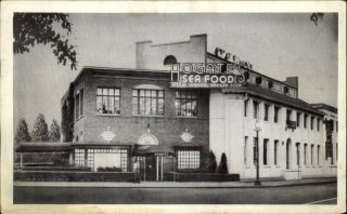 Washington DC Hogates Seafood Restaurant Postcard