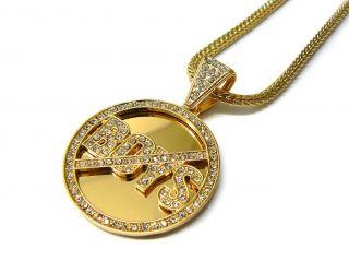 No Boys Allowed Pendant Necklace Keri Hilson Chain Gold