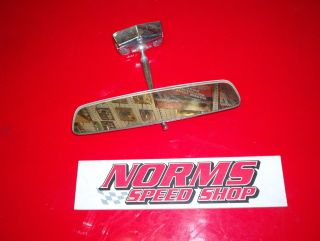 Mopar A Body Convertible Rear View Mirror Windshield Trim Dart