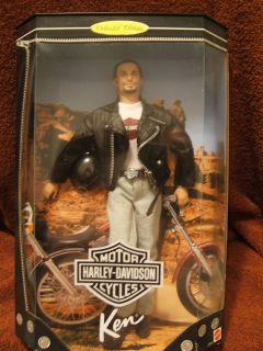 Barbie Harley Davidson Ken 1998 NRFB 074299204418