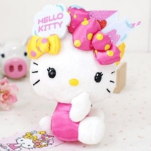 Sanrio Japan Hello Kitty Mori Charm Doll