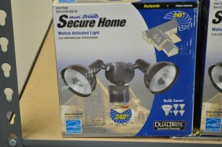 Heath Zenith Secure Home Motion Activated Light Dual Bright Model SH