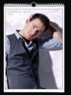 Channing Tatum 2013 Wall Holiday Calendar