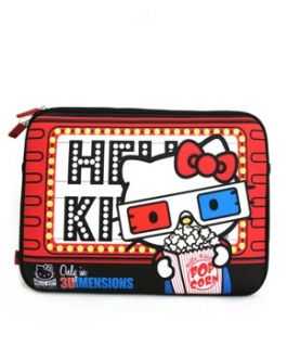 Hello Kitty 3D Movie 13 inches Laptop Case Sleeve Cover Holder