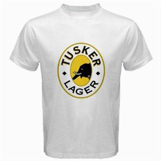 Tusker Beer Logo New White T shirt Size XL: Everything