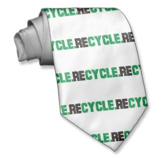 Recycle Products & Designs! Tie