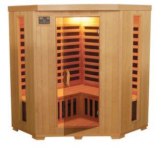 Hemlock 3 Person Carbon Heater Far Infrared Sauna