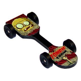 Zombie Zoom Extreme Speed Pinewood Derby Car Kit Toys