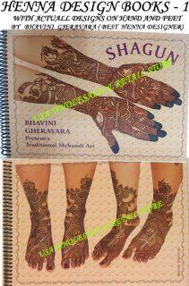 Bridal Henna Tattoo Design Book by Bhavini Gheravara