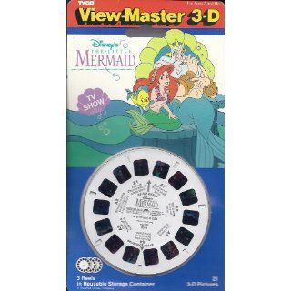 Disneys The Little Mermaid TV Show 3d View Master 3 Reel