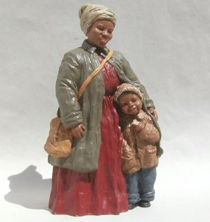 1988 Martha Holcombe Figurine Harriet Tubman Daniel All Gods Children