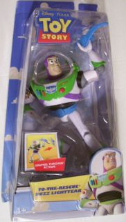 Disney Toy Story Buzz Lightyear Figure Grapnel New