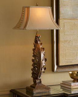John Richard Collection Acanthus Leaf Table Lamp