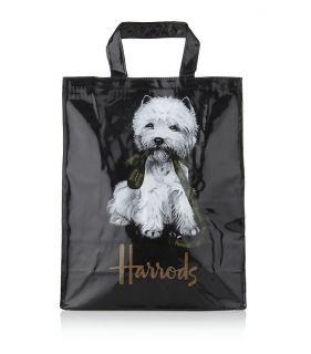 HARRODS OF LONDON WEST HIGHLAND WHITE TERRIER WESTIE DOG MEDIUM