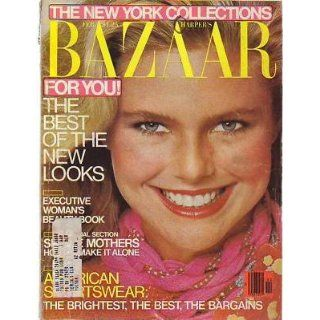 1979 Harpers Bazaar February Christie Brinkley;Sonora
