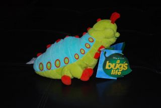 Disney Pixar A Bugs Life Caterpillar Heimlich Plush doll. NEW WITH