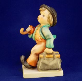 Hummel Merry Wanderer   TMK 6, 5 inches. A Beautiful Figurine