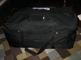 Reebok Hockey Gear Bag Black Canvas