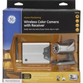GE Home Monitoring Wireless Color Camera System with Receiver 45234 2