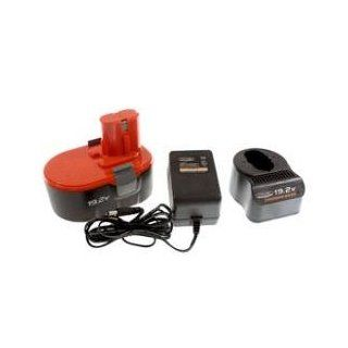 19.2 V Cordless Power Tool Battery and Charger Chicago Power Tools