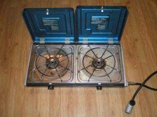 Burner Propane Stove Camping RV Travel Trailer Motor Home