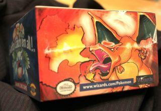 Pokemon Card Base Set Sealed Booster Box Green Wing Charizard +Bonus