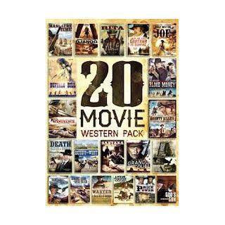 20 Film Western Pack George Hilton, Franco Nero, Anthony