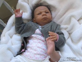 Prototype 1 Savira by Menna Hartog Reborn Biracial Baby Girl