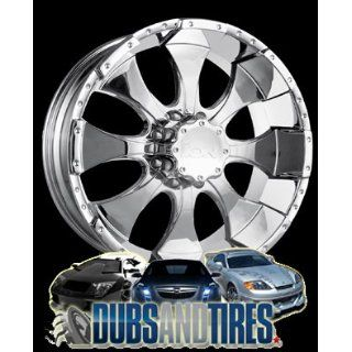 20 Inch 20x9 Ion Alloy wheels STYLE 137 Chrome wheels rims :