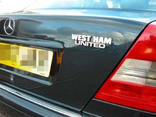 West Ham Hammers Collectors Chrome Football Car Badge
