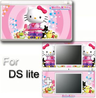 Hello Kitty Cat Vinyl Skin Sticker F Nintendo DS Lite 2