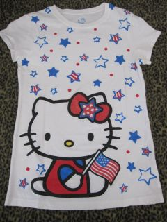 Hello Kitty Patriotic T Shirt