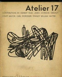1949 Stanley William Hayter Thomas Brownell Eldred Joan Miro Drewes