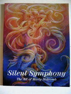 Marty Holcomb Art Book Fairy Mermaid Angel Elf Tattoo