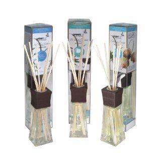 Greenair All Natural Reed Diffuser Set, Island Cotton