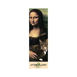 Cat Mona Lisa Bookmark