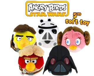 Angry Birds Star Wars 5 inch Plush   Pre order   Expected 29/11/12