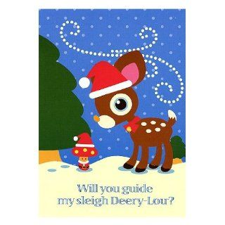 Kitty DEERY LOU Boxed Christmas Holiday Cards (20)
