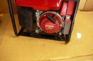 Honda EB3000C 3000 Watt 6 5 HP Generator Nice