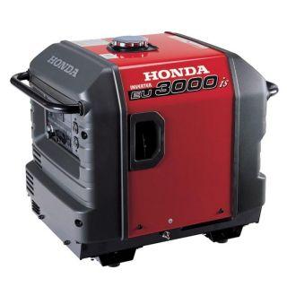 Honda EU3000IS Inverter Super Quiet Portable Generator Low Hours La