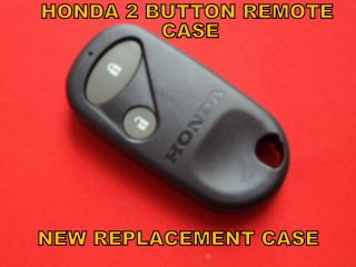 Honda Remote Control Alarm Key Fob Case Shell 2 Button New HRV CRV