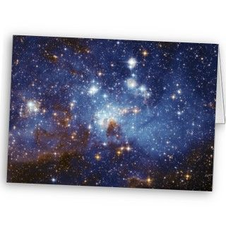 Formation Stellar Nursery LH 95 Greeting Cards