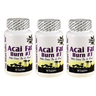 ACAI Fat Burn #3 all Pure Diet Pill with Green Tea