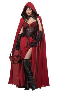 house if you dear in this naughty Dark Red Riding Hood outfit