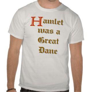 Hamlet T shirts